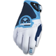 Blue/White SX1 Gloves