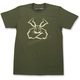 Olive Green Agroid T-Shirt