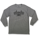 Gray Podium Long-Sleeve T-Shirt