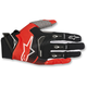 Black/Red Techstar Gloves