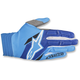 Blue/Aqua Aviator Gloves