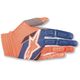 Orange/Blue Aviator Gloves