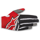 Red/Black Radar Flight Gloves