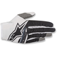 White/Black Radar Flight Gloves