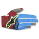 Rio Red/Aqua/Fl.Yellow Radar Flight Gloves