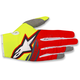 Fl. Yellow/Red/Anthracite Radar Flight Gloves