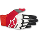 Black/Red/White Racefend Gloves