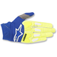 Fluo. Yellow/Blue Racefend Gloves