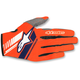 Fluo.Orange/Dark Blue Neo Moto Gloves