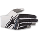 Youth White/Black Radar Flight Gloves