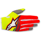 Youth Fluo. Yellow/Red/Anthracite Radar Flight Gloves