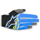 Youth Black/Aqua/Fluo. Yellow Radar Flight Gloves