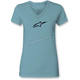Women's Tahiti Blue Ageless V-Neck T-Shirt