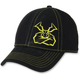 Black Agroid Intensity Snapback Hat - 2501-2804