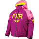 Youth Wineberry/Electric Pink/Hi-Vis Clutch Jacket
