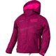 Youth Wineberry Track/Electric Pink Fresh Jacket