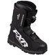 Black Backshift Boa Boots