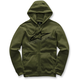 Military Green  Ageless Zip-Up Fleece Hoody