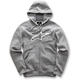 Charcoal Gray Ageless Zip-Up Fleece Hoody