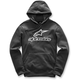 Black Always Pullover Fleece Hoody