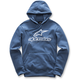 Navy Always Pullover Fleece Hoody