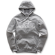 Charcoal Gray Always Pullover Fleece Hoody