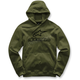 Military Green Always Pullover Fleece Hoody