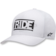 White Ride Hat