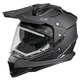 Black Mode Dual-Sport SV Snow Helmet w/Electric Shield