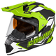 Hi-Vis Mode Dual-Sport SV Team Snow Helmet w/Electric Shield