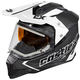Black Mode Dual-Sport SV Team Snow Helmet w/Electric Shield