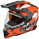 Flo Orange Mode Dual-Sport SV Team Snow Helmet w/Electric Shield