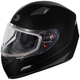 Black Mugello Snow Helmet