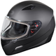 Matte Black Mugello Snow Helmet