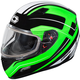 Green Mugello Maker Snow Helmet
