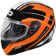 Flo Orange Mugello Maker Snow Helmet