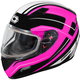 Pink Mugello Maker Snow Helmet