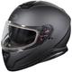 Matte Black Thunder 3 SV Snow Helmet