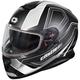 Matte White Thunder 3 SV Trace Snow Helmet