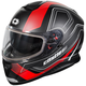 Matte Red Thunder 3 SV Trace Snow Helmet