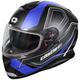 Matte Blue Thunder 3 SV Trace Snow Helmet