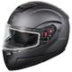 Matte Black Atom SV Modular Snow Helmet