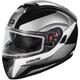 White  Atom SV Tarmac Modular Snow Helmet