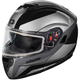 Black Atom SV Tarmac Modular Snow Helmet