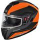 Matte Flo Orange Atom SV Tarmac Modular Snow Helmelt