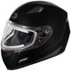 Black Mugello Snow Helmet w/Electric Shield