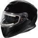 Black Thunder 3 SV Snow Helmet w/Electric Shield