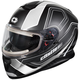 Matte White Thunder 3 SV Trace Snow Helmet w/Electric Shield