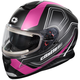 Matte Pink Thunder 3 SV Trace Snow Helmet w/Electric Shield