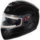 Black Atom SV  Modular Snow Helmet w/Electric Shield